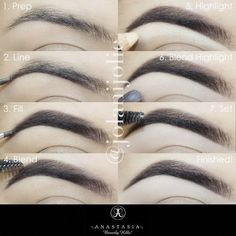 Flawless eyebrows with this 7 step brow pictorial - #preenme #eyebrows #browpictorial #eyebrowtutorial
