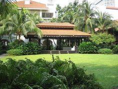 Jungle Gardens, Pergola, Outdoor Structures, Cabin, House Styles, Outdoor Decor, Home Decor, Decoration Home, Room Decor