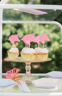 Bright Pink Unicorn Birthday Party - Inspired By This