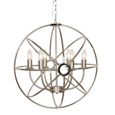 Vasteras 6 Light Chandelier