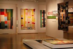 """From the """"Bold Expressions"""" quilt collection, photo taken by Jim from Active Rain."""