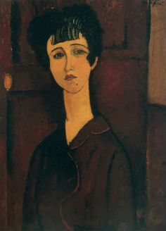 Amedeo Modigliani, Jeune femme (Victoria), 1917. Tate Gallery, London, bequeathed by C. Frank.