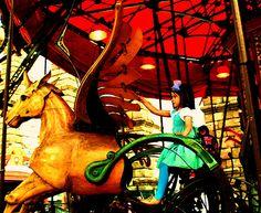 Niña en Pegazo  IMG_413989 Fair Grounds, Explore, Fun, Photography, Travel, Street, Fin Fun, Fotografie, Voyage