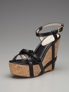 fabulous!  Liliana Wedge Sandal by Rosegold on Gilt