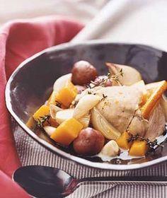 Slow-Cooker Orange Chicken With Potatoes