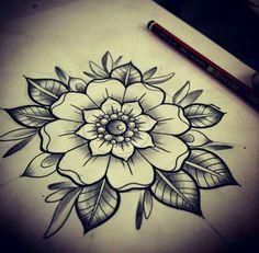 3 traditional mandala tattoo, traditional tattoo back piece, traditional fl Traditional Tattoo Back Piece, Traditional Mandala Tattoo, Neo Traditional Tattoo, Traditional Flower Tattoos, Rose Tattoos, New Tattoos, Body Art Tattoos, Sleeve Tattoos, Tatoos