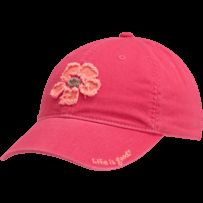 Women's Hibiscus Tattered Chill Cap | Flower Hats | Life is good #LifeisgoodFallFaves