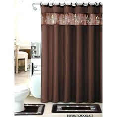 72//79/'/' Fabric Waterproof  Angry Lion Shower Curtain Bathroom Mat Accessory Set