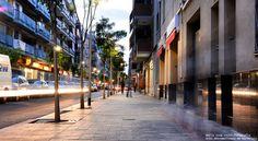 Calle Francesc Macià - Sant Boi . . . . . .  Àrea Metropolitana de Barcelona . . . . . Fotógrafa: María José Reyes Bass, Architecture, Fotografia
