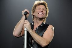 Jon Bon Jovi. So much more than an 80's rock heart throb. There are a lot of layers to Jon...