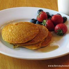 Whole Wheat Pumpkin Pancakes Recipe | Thriving Home