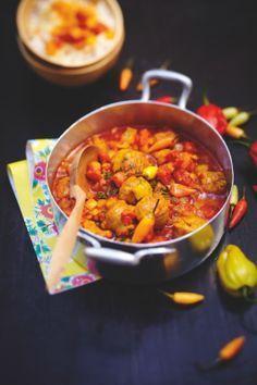 Rougail aux saucisses #antilles #food