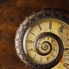 Sprial Steampunk Clock