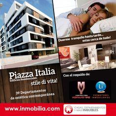 PIAZZA ITALIA: #Departamentos en #Quito Excelentes acabados y finos detalles. http://ecuador.inmobilia.com/es/detalleProyecto/15675-PiazzaItali #InmobiliaEC