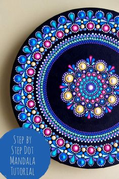Follow along with Kelly Theresa as she guides you through this dot mandala tutorial step by step. This is a 2 part tutorial so the link will take you to Part 1 to get started! 😁 #dotartwork #handpainted #mandalatutorial #stepbysteppainting #dotmandalastepbystep #videotutorial #paintingvideo #acrylicpainting #dotpaintingforbeginners #howtolayerdots #youtubetutorial #dotartist #dotartwork #mandalaartist #kellytheresa #dotpainting Mandala Art Lesson, Mandala Artwork, Mandala Painting, Stone Art Painting, Dot Art Painting, Mandala Painted Rocks, Mandala Rocks, Mandala Pattern, Mandala Design