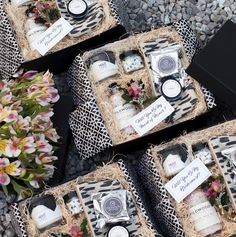 PRESENT DAY Gifts - Custom Bridesmaid proposal gifts. Black & white gifts with blush tones. Wedding Gift Baskets, Wedding Gift Boxes, Custom Wedding Gifts, Corporate Gift Baskets, Corporate Gifts, Staff Gifts, Expensive Gifts, Bridesmaid Proposal Gifts, Christmas Gift Baskets