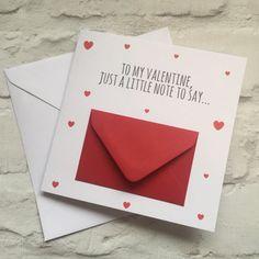 interesting diy gifts for valentines boyfriend 23 Cards For Boyfriend, Valentines Gifts For Boyfriend, Valentine Day Cards, Valentines Diy, Boyfriend Gifts, Diy Crafts For Gifts, Cards For Friends, Handmade Birthday Cards, Love Cards