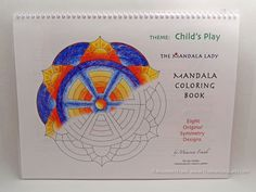 Child's Play Mandala Coloring Book -Symmetry- by TheMandalaLady on Etsy
