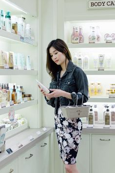 Shopping with Soko Glam (Korean skincare line)