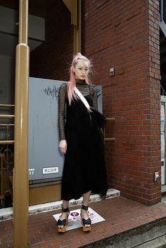Fashion fan blog from industry supermodels: Fernanda Hin Lin Ly - #VintageDress #PradaBag #Wes...