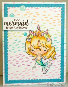 A thousand sheets of paper: Mermaid to be awesome...