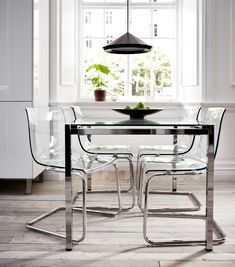 Cozy Transparent Chair for kitchen ideas