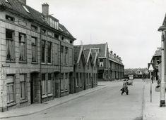 Archimedesstraat met kruising van de Laurens Costerstraat in 1953