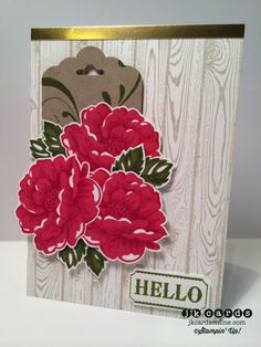Stampin' Up!, Creation Station, Stippled Blossoms, Everything Eleanor, Hardwood Background, Label Something, Gold Foil Sheet, Scalloped Tag Topper Punch, Ticket Duo Builder Punch