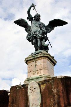 Statue of Michael, Castel Sant'Angelo, Rome