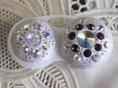 Crystallized Contact Lens Case
