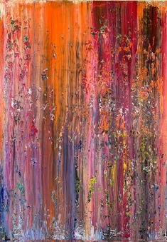 Original Abstract Painting by Thomas Ernst Gerhard Richter Painting, Slow Burn, Acrylic Material, Abstract Styles, Source Of Inspiration, Abstract Expressionism, Saatchi Art, Burns, Original Paintings