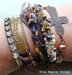 Jewelry wrap blessed on wrist Nina Bagley