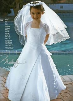 90ded687782 Miniature bride dresses for my daughter