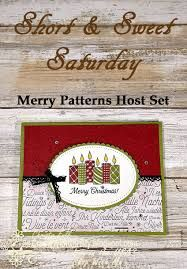 Image result for stampin up merry patterns host promotion