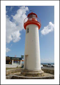 Lighthouses of Iroise - Phare de Trescadec, Audierne.  Finistère