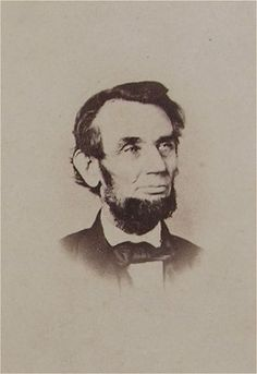 CDV of rarely published pose of ABRAHAM LINCOLN by Wendroth & Taylor (c. 1864).