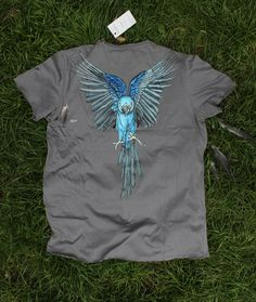 "fashion look, bird, colletion ""INAYA design"" , art t-shirt, drawing"