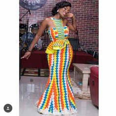 Dearest Lovebirds, What a way to style yourselves with Kente combined with Velvet? Have you seen people dress gorgeously with Kente and Velvet? Trust us, we know what makes you look cute. Latest African Fashion Dresses, African Print Fashion, Africa Fashion, Ankara Fashion, Women's Fashion, Fashion Ideas, African Shirt Dress, Kente Dress, Agbada Styles