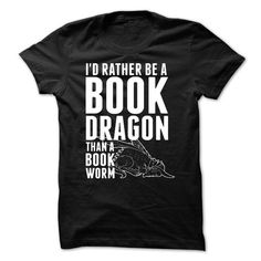 Book Dragon T Shirts, Hoodies. Get it here ==► https://www.sunfrog.com/LifeStyle/BOOK-DRAGON.html?41382