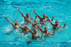 It's #RUS with #gold! #CHN wins #silver and #JPN #bronze! #SynchronisedSwimming #Olympics