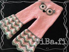 Virkatut housut, pöllö - BiBa