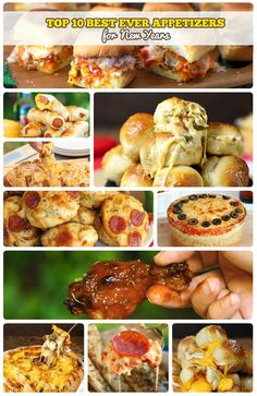 There is no better food option on New Year's Eve than finger food and appetizers!  We have picked out BEST EVER APPETIZERS to share with you.  These disappear like magic at our parties and I am sure they will be a huge hit at yours too!