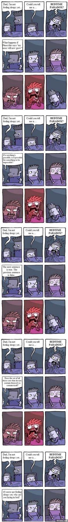 Bedtime paradox!!!