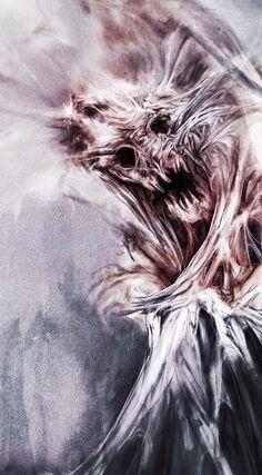 Arnaud de Vallois Dark Fantasy Art, Dark Art, Creepy Pictures, Macabre Art, Dark Places, Horror Art, Creature Design, Scary, Art Photography