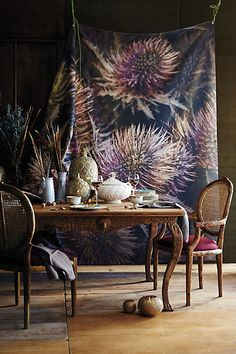 Handcarved Menagerie Dining Table - anthropologie.com #anthrofave