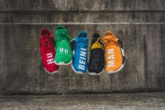 Five standout colorways of the Pharrell x adidas NMD Human Race