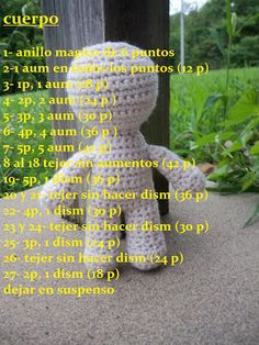 Free Amigurumi d pattern – BuzzTMZ Amigurumi Patterns, Amigurumi Doll, Doll Patterns, Knitting Patterns, Crochet Patterns, Crochet Bear, Crochet Gifts, Free Crochet, Crochet Doll Pattern