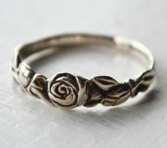 Tea Rose Ring