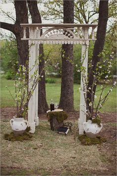 vintage backyard wedding ideas - Google Search