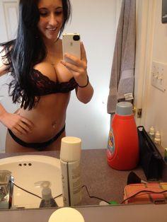 Great boob cleavage selfie